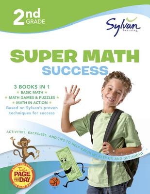 2nd Grade Super Math Success By Sylvan Learning (COR)